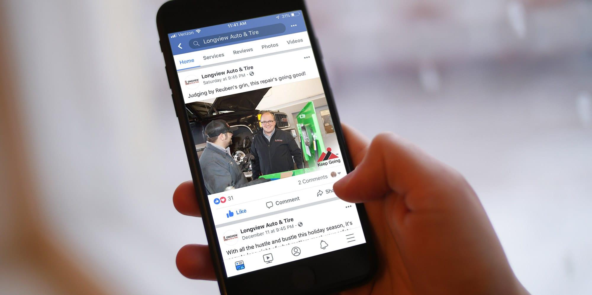 automotive social media