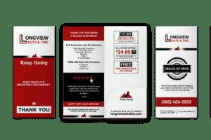 Automotive Document Folder